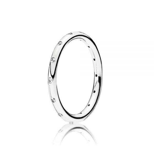 Pandora 190945CZ Ring Tröpfchen Silber