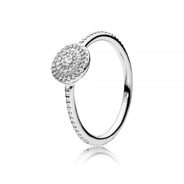 Pandora 190986CZ Ring Strahlende Eleganz Silber