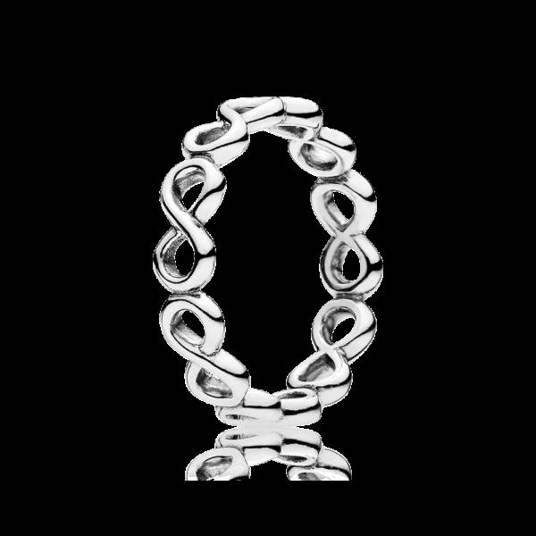 Pandora 190994 Ring Unendlichkeit Sterling-Silber