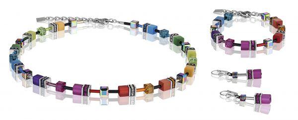 Coeur De Lion 2838/10-1520 Kette GeoCUBE® Multicolor Rainbow