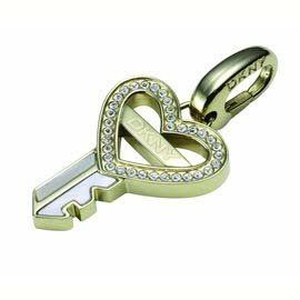 DKNY NJ1189040 Anhänger Schlüssel mit Herz