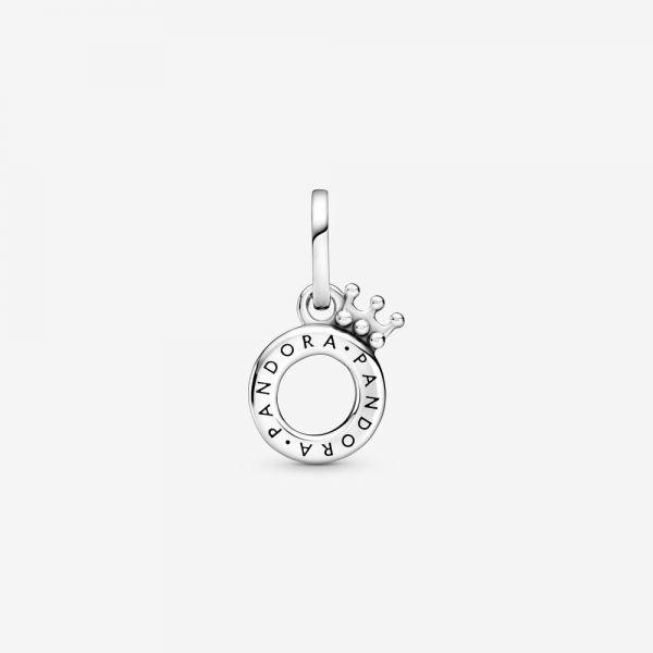 Pandora 399043C00 Anhänger Damen Offen Crown O Silber