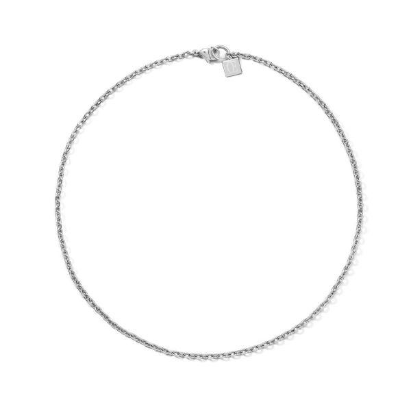 Coeur de Lion 5067/10-1700 Halskette Swarovski® 4-in-1 Kugel Hämatit Silber