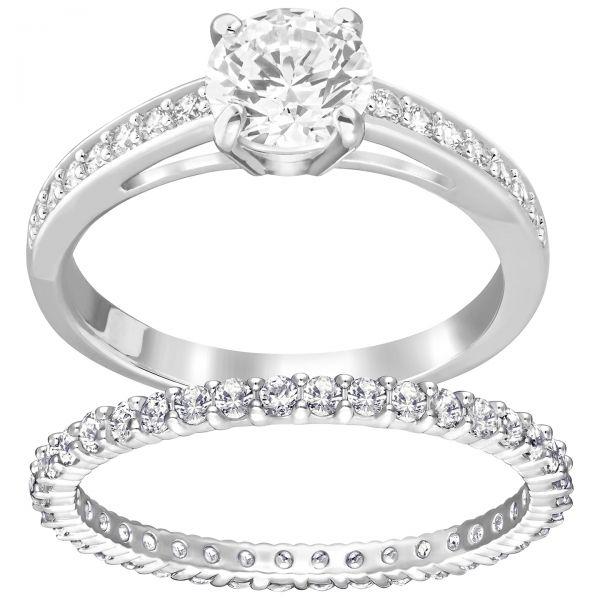 Swarovski Ring Damen I Do Silber-Ton
