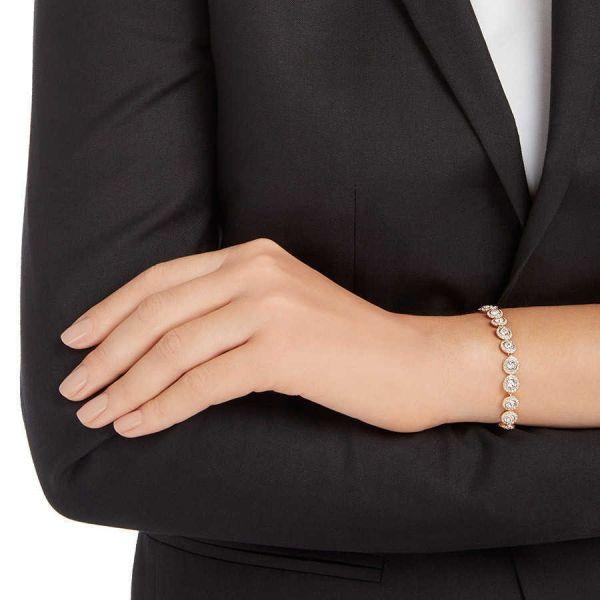 Swarovski 5240513 Armband Angelic Weiss Rosé