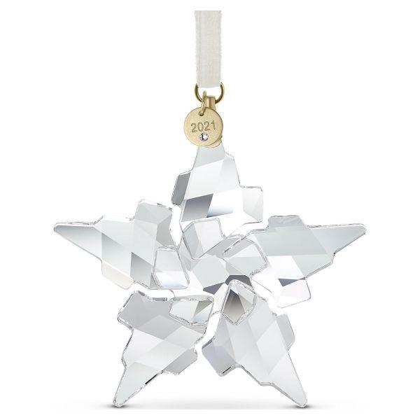 Swarovski 5574358 Ornament Baumschmuck Jahresausgabe 2021 Klein Weihnachten Gold-Ton