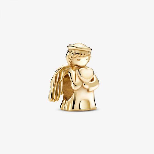 Pandora 759143C00 Charm Damen Engel der Liebe 14k Gelbgold