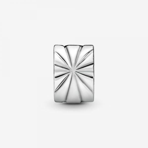 Pandora 790210 Charm Clip Sonnenstrahlen Sterling-Silber