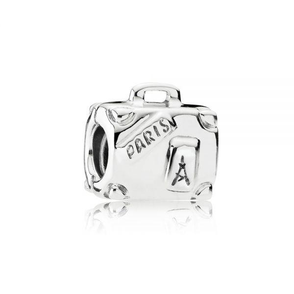 Pandora 790362 Charm Damen Abenteuer-Koffer Sterling-Silber