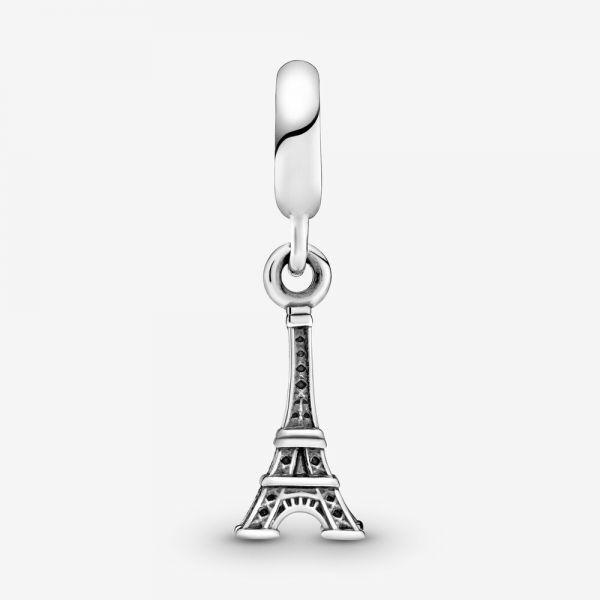 Pandora 791082 Charm-Anhänger Damen Eifelturm Paris Sterling-Silber