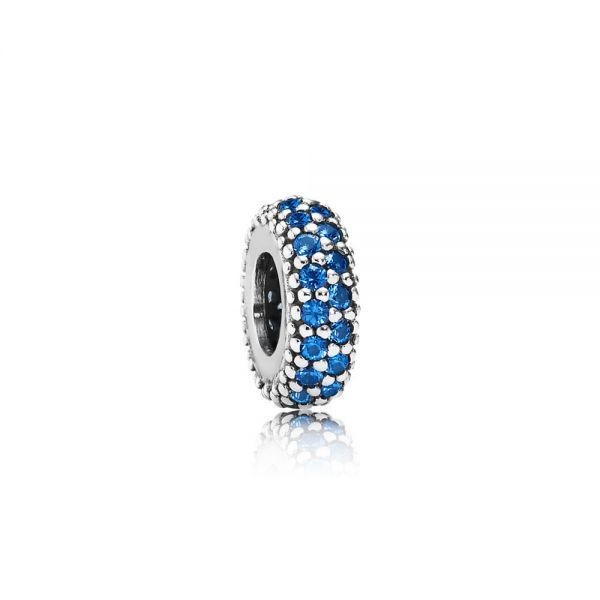 Pandora 791359NCB Charm Blaues Pavé Zwischenelement Inspiration