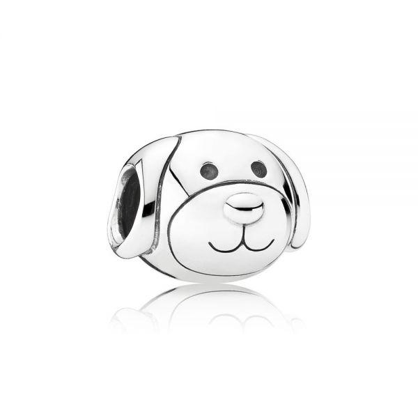 Pandora 791707 Charm Damen Treuer Liebevoller Hund