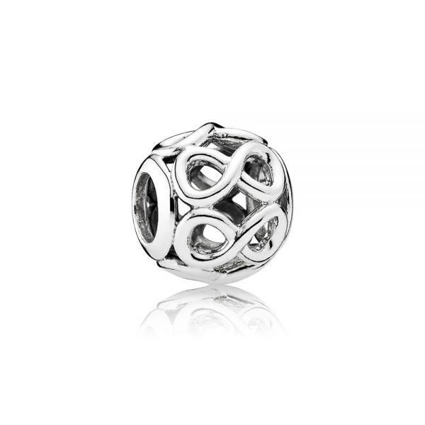 Pandora 791872 Charm Damen Unendlichkeit Sterling Silber