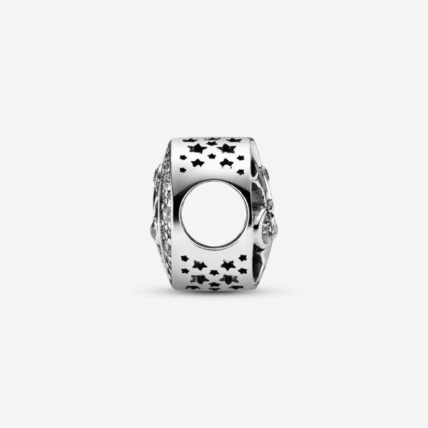 Pandora 791992CZ Charm Vintage Nachthimmel Sterling-Silber