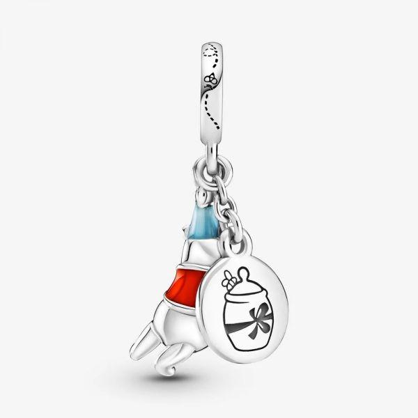 Pandora Disney 799385C01 Charm-Anhänger Damen Winnie Puuh Geburtstag Sterling-Silber
