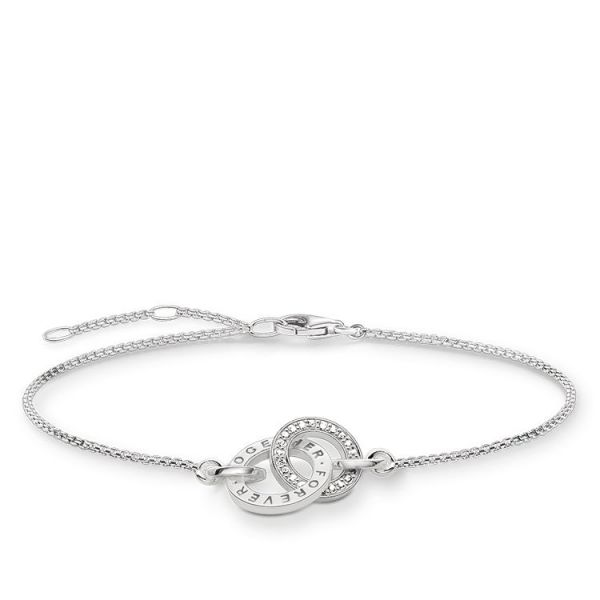 Thomas Sabo A1551-051-14 Armband Together Forever Silber