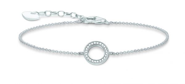 Thomas Sabo A1652-051-14 Armband Kreis Silber 19,0 cm