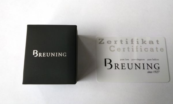 Breuning 41/86623-0 Ring Brillant 0,15 ct W-si 14 kt Gelbgold