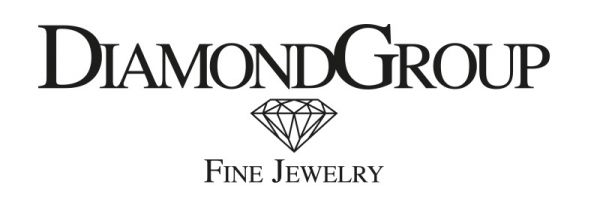 Diamond Group 2F028G4 Ohrstecker V-Zarge 2 Brillanten 0,20 ct 14 kt 585/- GG