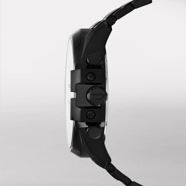Diesel DZ4283 Herrenuhr Mega Chief Chronograph Quarz Edelstahl-Band Ø 51 mm