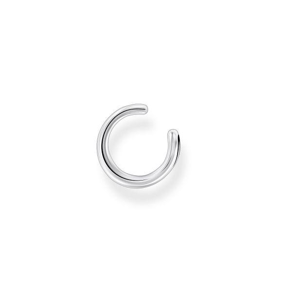 Thomas Sabo EC0024-001-21 Ohrklemme Einzel Damen Gekreuzt Sterling-Silber