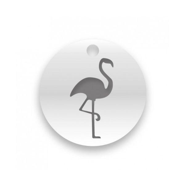 Beka & Bell 5024 Halskette Anhänger Lieblingsstück Flamingo Silber 42 cm