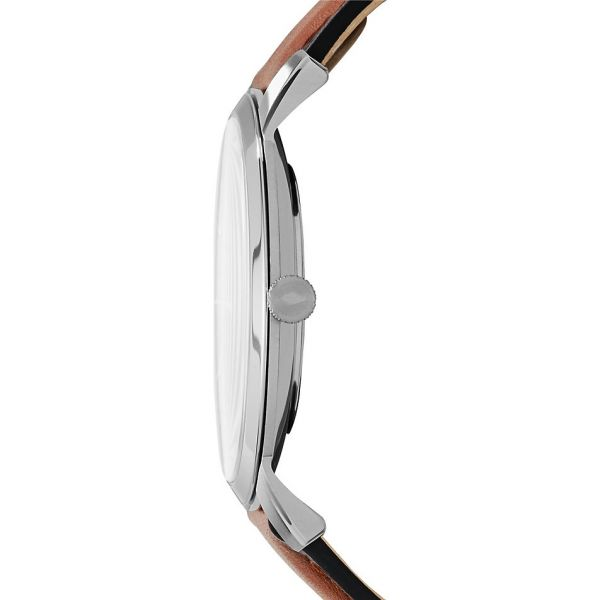Fossil FS5304 Herren-Uhr The Minimalist Slim Analog Quarz Ø 44 mm