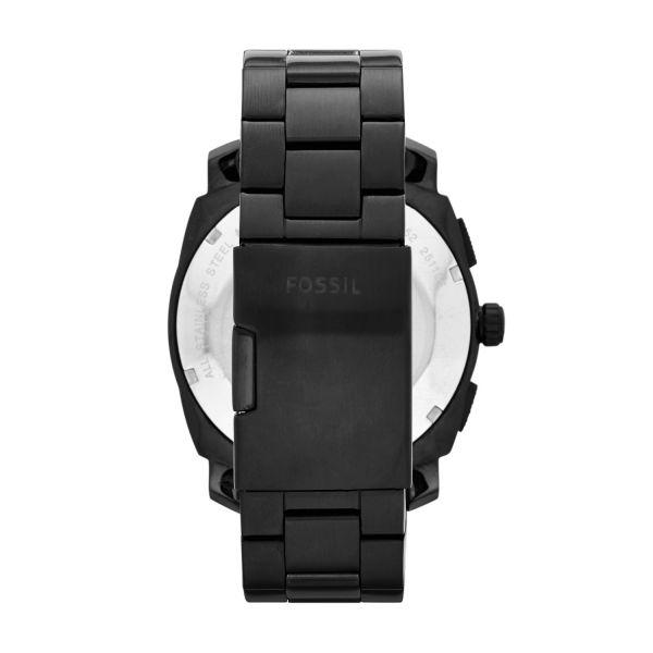 Fossil FS4552 Herren-Uhr Machine Chronograph Quarz mit Edelstahl-Band