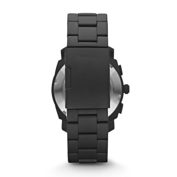 Fossil FS4682 Herren-Uhr Machine Chronograph Quarz mit Edelstahl-Band