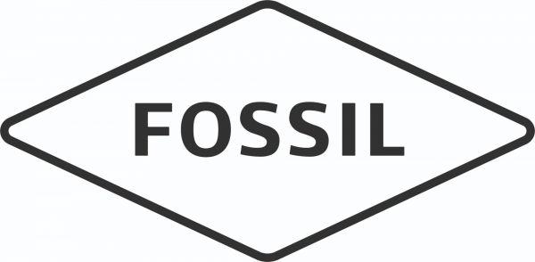 Fossil JF00118791 Armband Damen Scheibe mit Glitz Leder Rosé