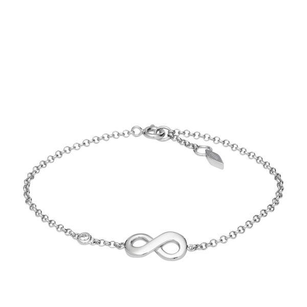 Fossil JFS00393040 Armband Damen Infinite Love Sterling-Silver