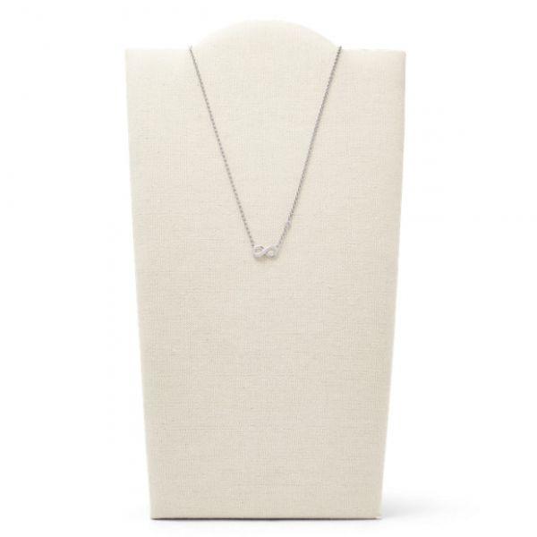 Fossil JFS00394040 Halskette Damen Infinity Love  Sterling-Silver Boxed