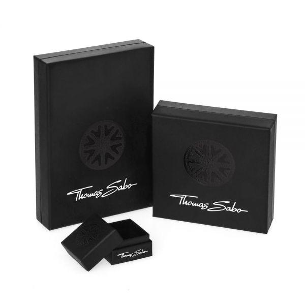 Thomas Sabo K0142-640-32 Karma Bead Lotus Dunkelblau Silber