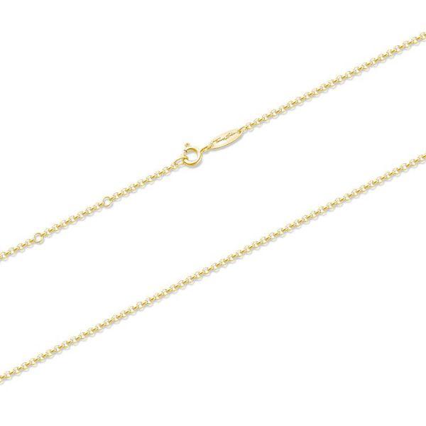 Thomas Sabo KE1219-413-12 Halskette Damen Silber Gelbgold Vergoldet
