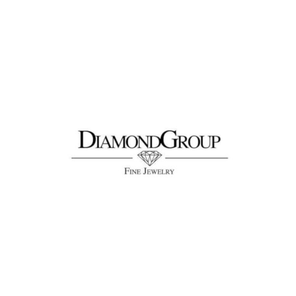 Diamond Group 1A286W452 Ring Brillant 0,05 ct TW-si 14 kt Weissgold Gr. 52