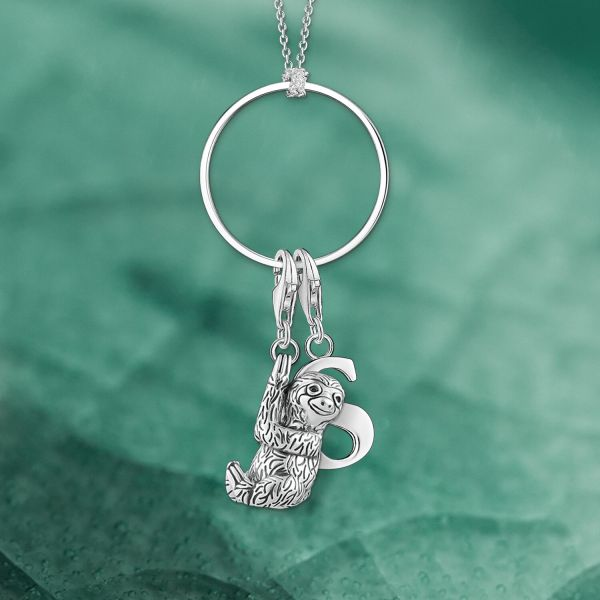 Thomas Sabo 0193-001-12 Charm-Anhänger Buchstabe S Sterling-Silber