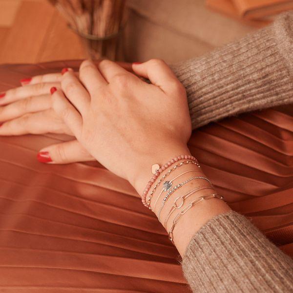 Thomas Sabo LS068-173-19 Charm-Armband Damen Little Secret Kreis Silber