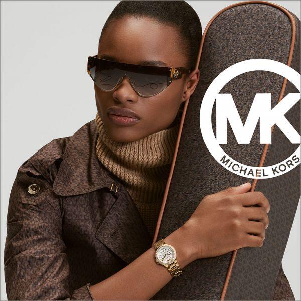 Michael Kors MK4557 amen-Uhr Liliane Quarz Edelstahl-Armband Rose-Ton