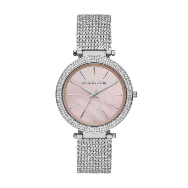 Michael Kors MK4518 Damen-Uhr Spring Analog Quarz Edelstahl-Armband