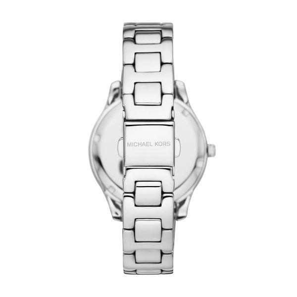 Michael Kors MK4556 Damen-Uhr Liliane Analog Quarz Edelstahl-Armband
