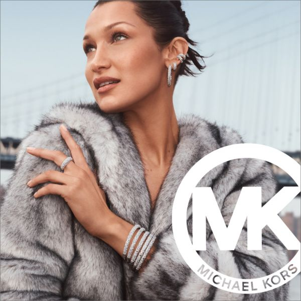 Michael Kors MK6984 Damen-Uhr Parker Chronograph Quarz Leder-Armband Gold-Ton