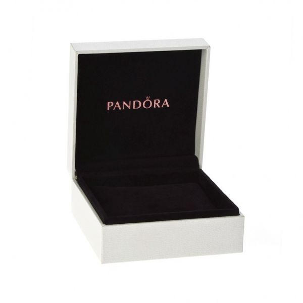 Pandora 792057CZ Komfortkette Pandora Logo Silber 5 cm