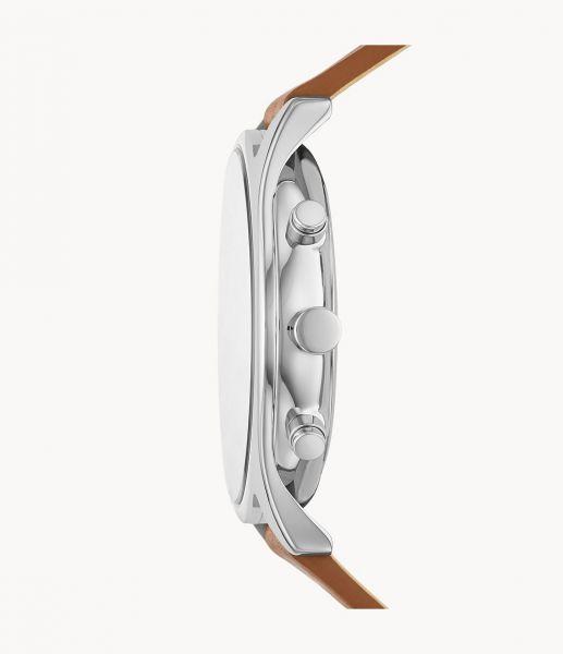 Skagen SKW6732 Herren-Uhr Holst Chronograph Quarz Leder-Band Ø 42 mm