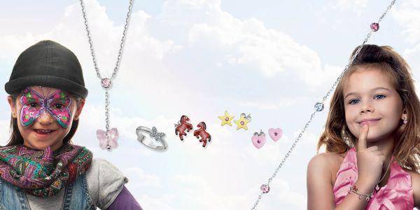 Scout 260232100 Kinder-Armband Blume und Biene