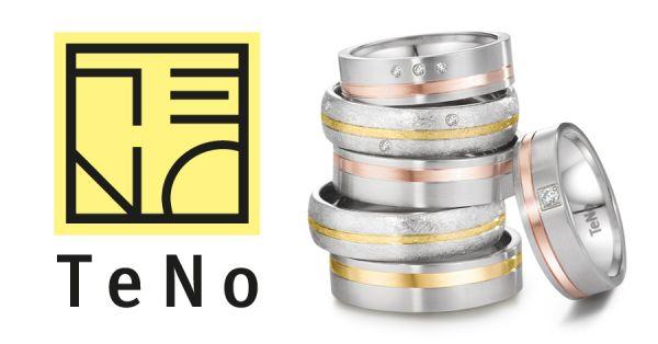 TeNo 064.1314.D15.56 Partner-Ring Tamor Satin Mit Brillant 0,04 ct. TW/si Silber-Ton Gr. 56
