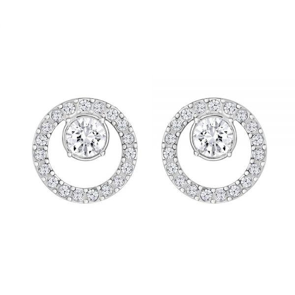 Swarovski 5201707 Ohrringe Damen Creativity Circle Small Silber-Ton