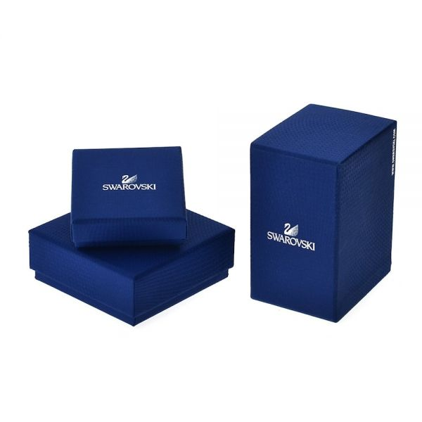 Swarovski 5614926 Halskette Millenia Zirkonia Oktagon-Schliff Blau Silber-Ton