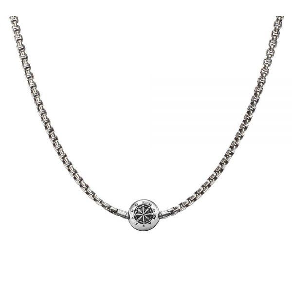 Thomas Sabo KK0002-001-12 Kette für Beads geschwärzt Silber