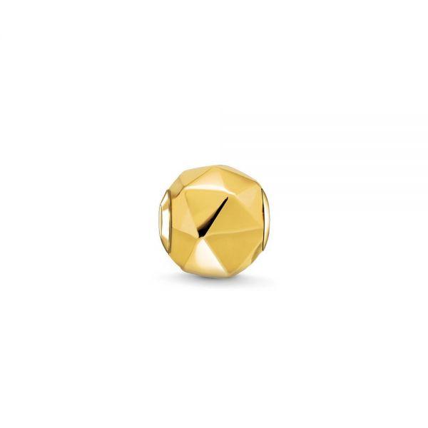 Thomas Sabo K0227-413-12 Karma Bead Dreieck Gelb-Gold-Ton