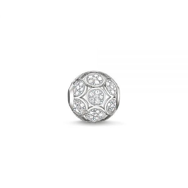 Thomas Sabo Karma Bead Sparkling Circles K0147-051-14